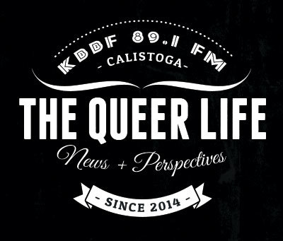 the queer life radio show logo